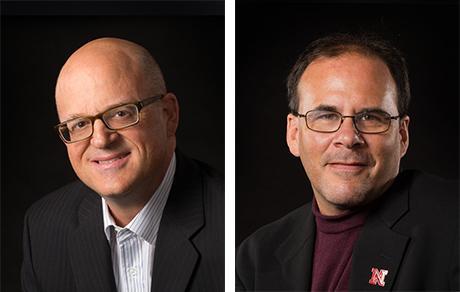 Richard Endacott (left ) and Steve Kolbe (right)
