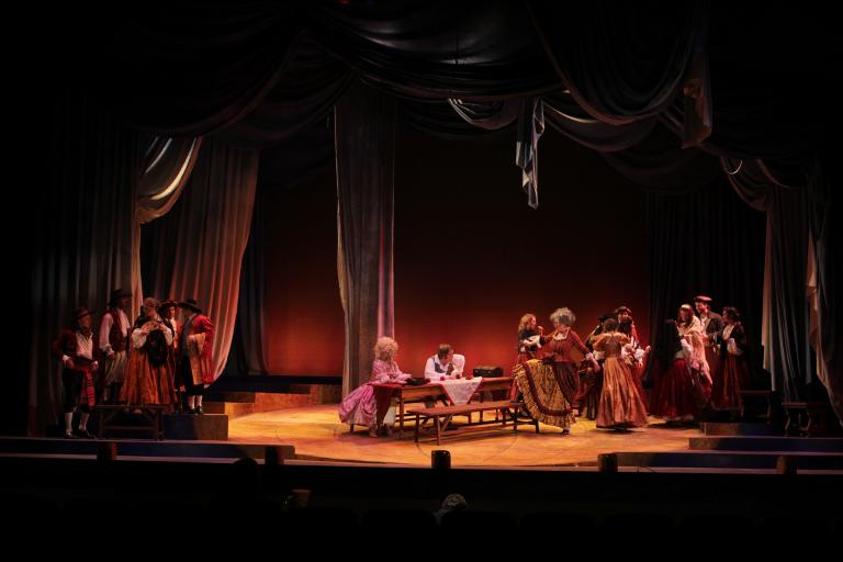 "UNL's production of ""Candide"" took first place in its division in the National Opera Association's Competition. Photo by Doug Smith."