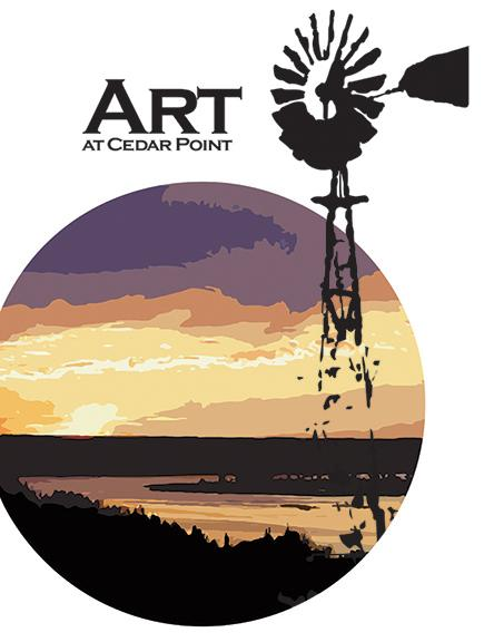Students will have the opportunity to take an art class at Cedar Point Biological Station near Ogallala, Neb., during the summer. They are also coordinating an artist in residence program.