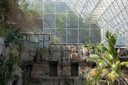 """Dana Fritz, """"Ocean Cliffs, Biosphere 2"""""""
