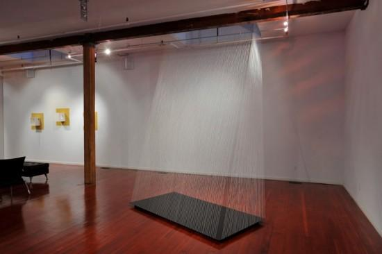 "Helen Hiebert, ""Holding Space"" installation."
