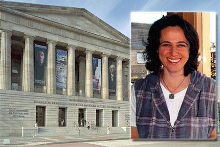 Wendy Katz will be studying at the Museum of American Art among other Washington, D.C. locations