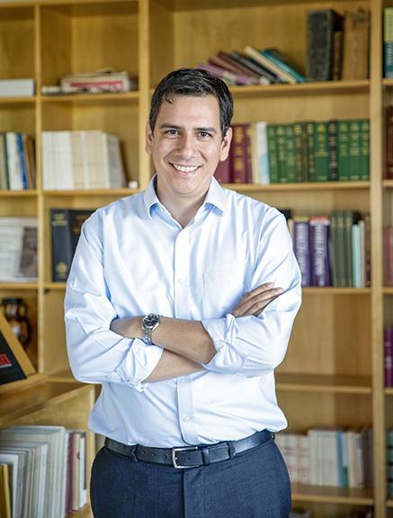 Dimitri Nakassis. Photo courtesy of the John D. & Catherine T. MacArthur Foundation.