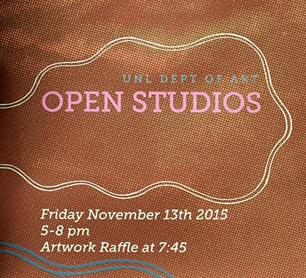 Open Studios event in Richards Hall and Woods Art Building is Nov. 13.