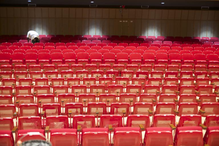 Seats in Kimball Recital Hall image