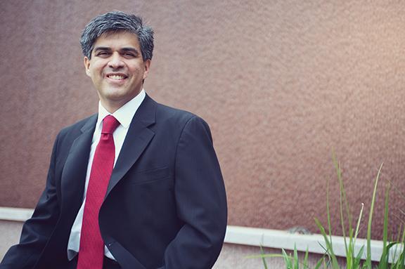 Dr. Sergio Ruiz. Photo by Kristen Bowyer.