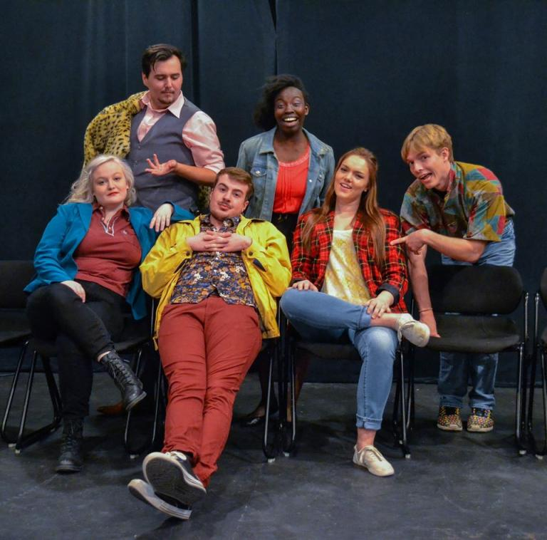 "Theatrix presents the comedy ""Leaving Lundso's"" Feb. 18-19."