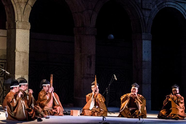 Picture of the Gagakju Ensemble