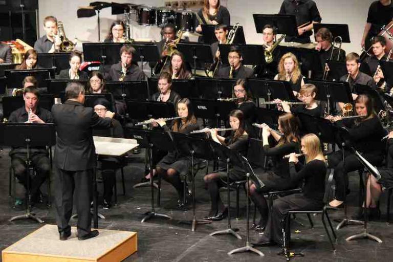 UNL Symphonic Band in concert