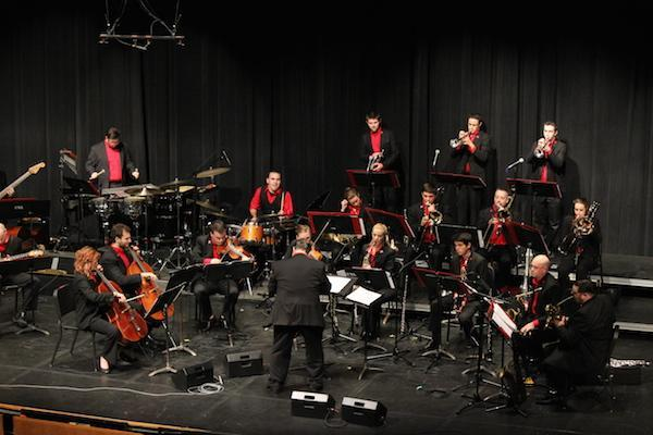 UNL Jazz Orchestra 2.0 performance image