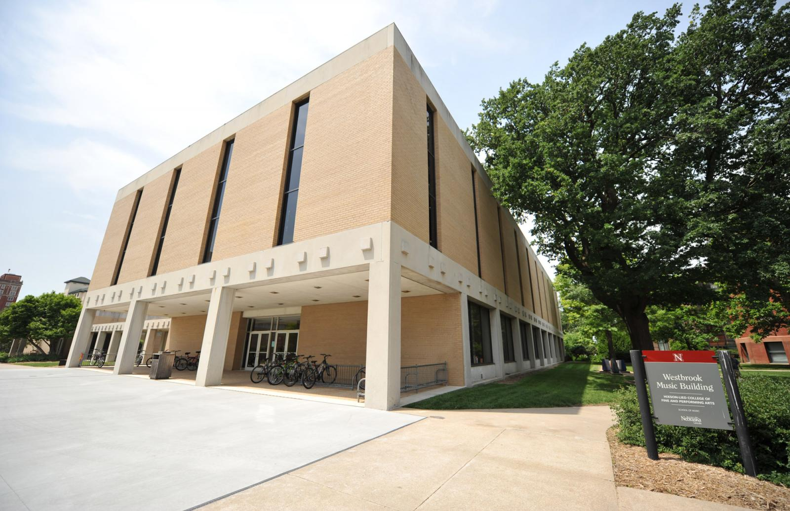 Westbrook Music Building Hixson Lied College Of Fine And